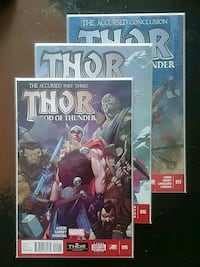Thor God of Thunder #15,#16,#17