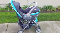 Graco combo, infant car seat and stroller, can be used for infant or older child
