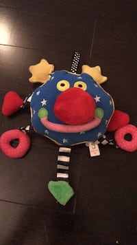 Whoozit rattle toy