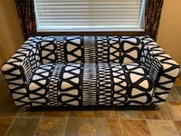 Black and white patterned sofa  Fort Worth, 76109