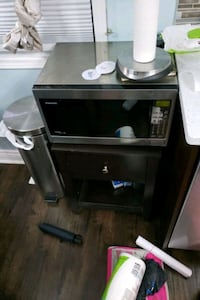 Microwave Stand with Drawer