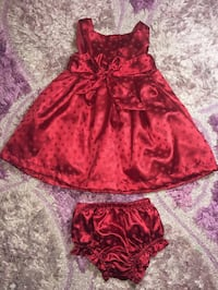 Special occasions Baby girl dress like new !