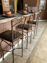 """Bar stools, 30""""from floor to seat.  Gilbert, 85234"""