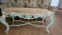 Vintage table with marble top.               . Grayslake, 60030