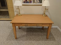 Beautiful solid wood desk / project table Sterling