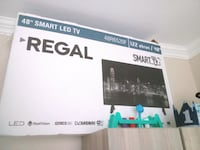 Regal bir aylik smart 4k 122 ekran Levent Mahallesi, 10200