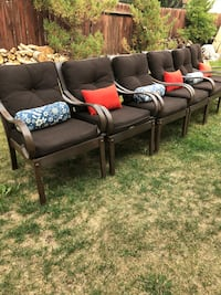 Metal patio chairs  Calgary, T1Y 1R5