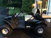 2017 EZ Go Express S4 Gas Powered Golf Cart. Basically brand new with approx 5 miles on it. Bought for daughter to use in neighborhood but she moved to San Francisco. Not going to use so need garage space. Paid $8500 new. Serious inquiries only plz.