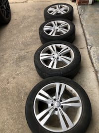 Mercedes-Benz ML350 19x8 wheels and tires