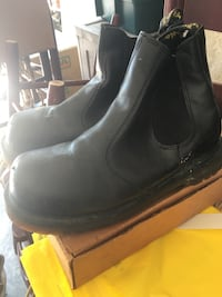Boots three pairs authenticate Dr martins originals two pairs and sorel