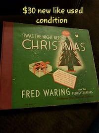 Fres Waring Christmas collection record  278 mi