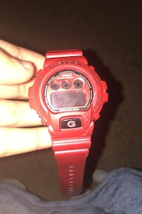 G shock red watch perfect condition