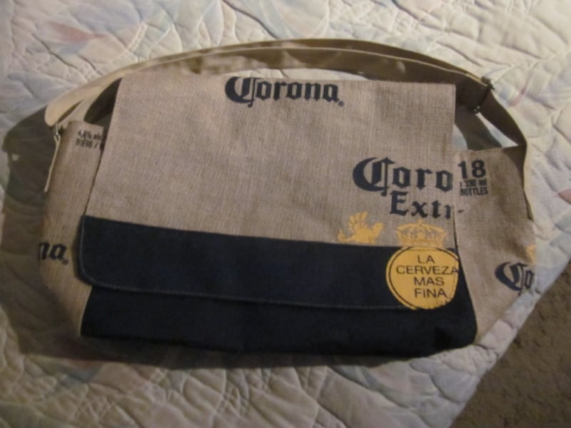 Brand New Corona Beer Cooler for 18 Bottles Beach Burlap Bag  5a9d9304-a8ad-4e84-a081-5352efbd72ff