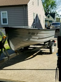 14 ft fully restored boat and trailer Parma, 44129