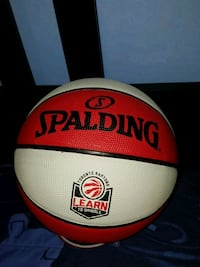 red and white Spalding basketball Markham, L3P 4G9