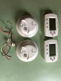 Smoke and carbon monoxide and thermostat