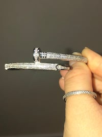 Silver bangle Mississauga