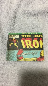 the invincible iron man designed leather bifold wallet Richmond Hill, L4C 0T3