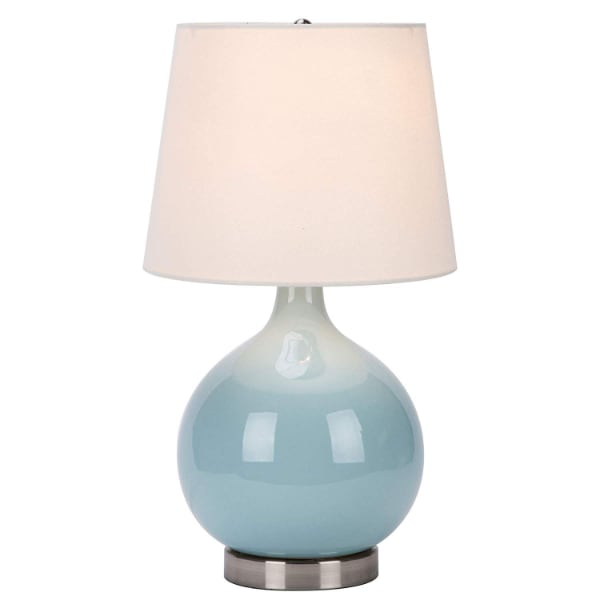 Gorgeous new ceramic lamp. Missing a piece