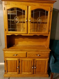 brown wooden cabinet with shelf Gilbert, 85233