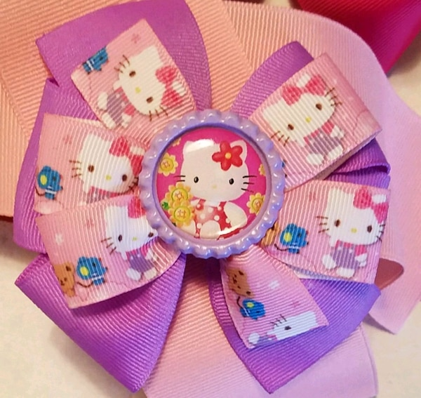 183b2f71f Used JUST REDUCED..Hello kitty handmade hair bows for sale in Ozark ...