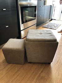 Stackable ottomans San Diego, 92104
