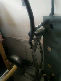 black and gray elliptical trainer-Still Available! Oshawa, L1H 7K4