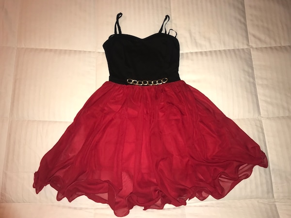 Silky  Formal Red Dress