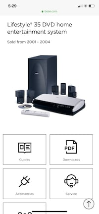 Bose Lifestyle 35 Home Entertainment System Mount Airy, 21771