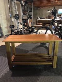 """Wooden Table 24"""" h x 40"""" w Wood Dale, 60191"""