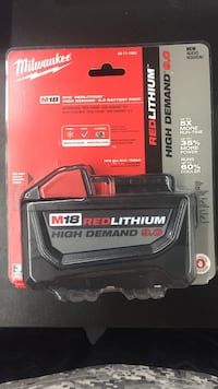 Milwaukee 9.0 battery pack B/N  Syracuse, 13211