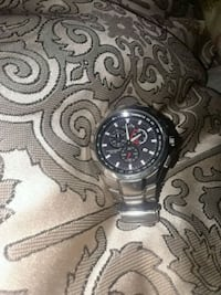 Citizen eco drive chronograph watch with link b 534 km