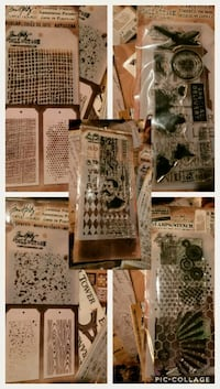 Tim Holtz scrapbook supplies