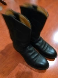 black leather cowboy boots Brunswick, 31525