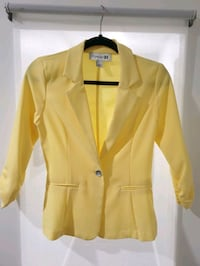 Forever 21 - Yellow Thin Blazer (Size S) Richmond, V6X 2E7