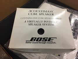 Bose AM-7 Home Theater system