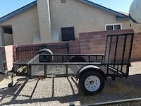 ATV trailer 6x10 bed with ramp