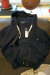 Brand new polo sweater hoodie zip up  Vancouver, V5R 4W4