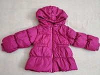 Hooded Frost-Free Puffer Jacket for Toddler Girls Calgary, T2Y 0G2