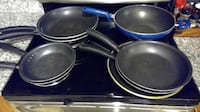 Cooking Pans, all, one or some, there are 9 of them  GAITHERSBURG