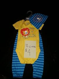 3pc outfit by The Baby Place sz 9-12months