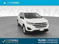 2015 Ford Edge suv SE Sport Utility 4D White Brentwood