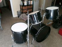 black and white drum set Camp Springs, 20746