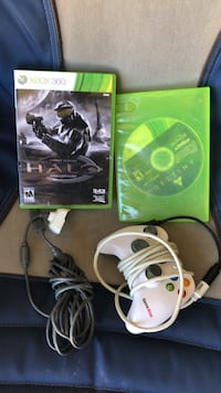 Two 360 games a controller and charging cable 1144 mi
