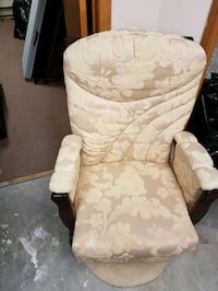 Padded rocking chair -$35