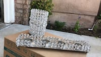Crystal candle holders Valencia, 91354