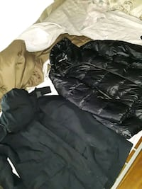 Two Land's End coats