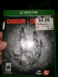 Xbox ONE Evolve Game Essex, 21221