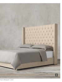 "$2200 Restoration Hardware 68"" Adler Bed Frame Aldie, 20105"