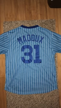 Greg Maddux Chicago Cubs Cooperstown Collection Size L Philadelphia, 19121
